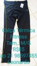 Calça Térmica  Fitness Compressão