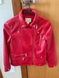 Jaqueta de couro Zara original 10 anos