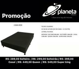Cama Box d Solteirão entrega gratuita