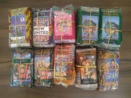 Lote Com 2000 CARDS Para Coleção 2021