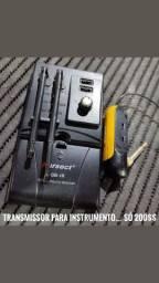 Transmissor sem fio para instrumento