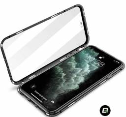Capa protetora iPhone XR case magnética