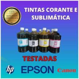 Tintas para Impressoras EPSON_HP_Canon_Consulte entrega