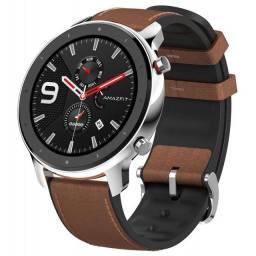 Relógio Amazfit GTR Stainless Steel 47mm A1902 Bluetooth