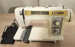 Maquina De Costura Elgin Genius Super Automática Antiga - 110V