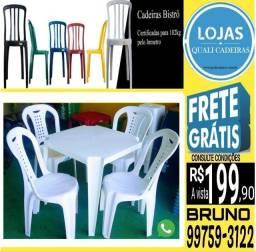 Ofertasso_ jogo direto de fábrica_ Mesa e cadeiras