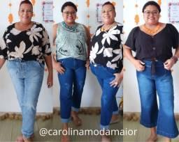 Título do anúncio: Calças jeans com lycra