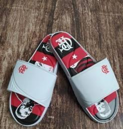 Sandália slide do flamengo