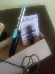 Escova modeladora e onduladora 2 em 1