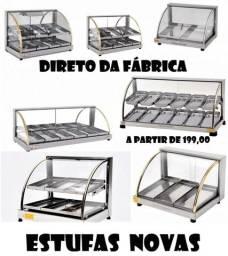 Estufas quentes ou frias ou a gás novas direto da fábrica