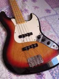 Contra Baixo Jazz Bass SX - Com captadores fender custom shop 60 jazz bass
