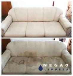 Limpeza de sofá a seco