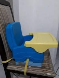 Cadeirinha de refeição criança portátil