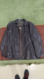 Jaqueta em couro masculino.