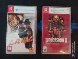 Jogos Para Nintendo Switch (Troca)