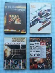 Combo DVDs Originais - Paralamas, Lulu e Diversos POP Acústico