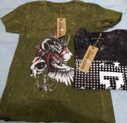 Camisas jonh jonh pre lavada Tam M kit 2 por 70 ou 3 por 100