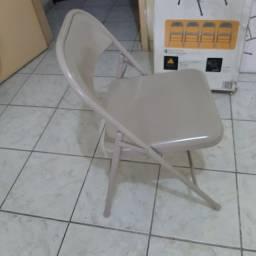 8 Cadeiras dobráveis