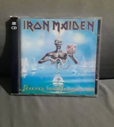 Cd iron maiden duplo importado castle