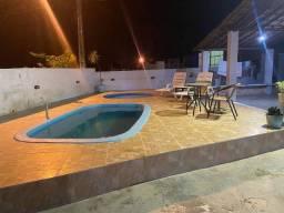 Casa de praia com piscina fim de semana