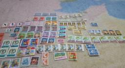 Lote Selos de carta antigos desde 1876