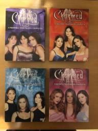 Box dvd Charmed - temp 1, 2, 3 e 4 completas