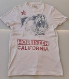 Camiseta Hollister (Original) - Tamanho M