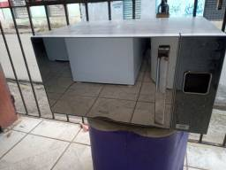 Microondas Philco 25 litros espelhado cinza ZAP 988-540-491 dou garantia