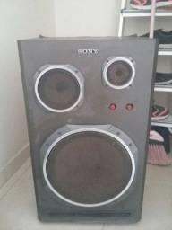 Caixa de som Sony antiga