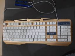 Teclado gamer Plugx gabinete Keyboard