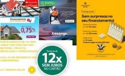 Energia Solar Nota Fiscal e Garantia 12x Cartão de Crédito sem juros