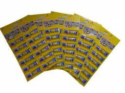 Super cola instantanea - 5 cartela com 12 un de 3g (total 60 un) - Original