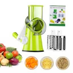Ralador Fatiador Multiuso 3 em 1 Verduras Legumes Queijo Promoção