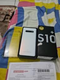Sansung S10 Plus  sem marcas de uso,COMPLETO. 2.700,s.de Colatina.