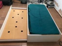 cama com colchao