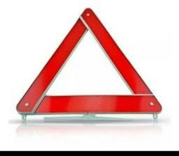 Triângulo de Sinalização para Carros