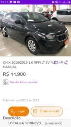 Compro onix 2018 ou 2019
