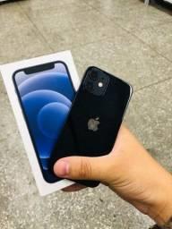 iPhone 12 mini preto com garantia >> sucesso