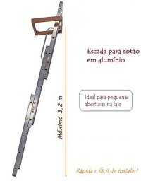 Escada para Sótão de Alumínio