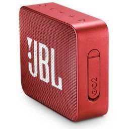 Caixa de Som JBL GO 2 Red - Original