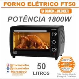 Forno Elétrico 50 Litros 1800w  Black+decker Ft50