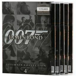 Box Dvd 007 - Ultimate Collection - Volume 4 - 5 Filmes