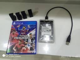 **Promoção** Jogo PS4 , mais suporte para PS4 Slim e também HD externo compatível PS4.