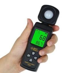 Luxímetro smart sensor luz medidor de intensidade de luz