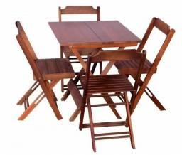 Black Friday Mesa Bar/Restaurante com 4 cadeiras *Frete Grátis - Compre pelo Zap 979144047