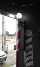 """Barber pole """"Poste de Barbeiro"""