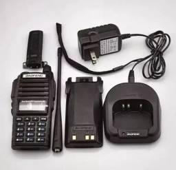 Uv82 8w bateria 5000mah rádio comunicador baofeng original