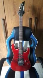 Guitarra Strinberg Clg-65 com um amplificador da Yamaha