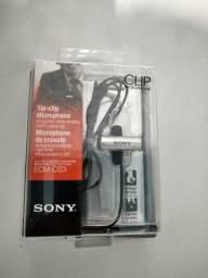 Microfone de Lapela Sony ECM-CS3 somente venda