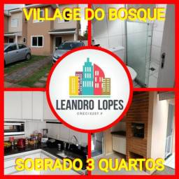 Sobrado Top no Village do Bosque, 3 qtos. confira